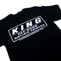 KING Tシャツ 背面白ロゴ